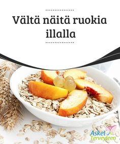 Vältä näitä ruokia illalla   Keho ei tarvitse paljoa ruokaa illalla, sillä se #valmistautuu lepoon, eikä yön aikana tule #kulutettua läheskään yhtä paljon #energiaa kuin päivällä.  #Terveellisetelämäntavat