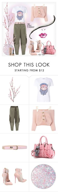 """MyFaveTshirt"" by lamipaz ❤ liked on Polyvore featuring Pier 1 Imports, Coach, 3.1 Phillip Lim, RED Valentino, Philosophy di Alberta Ferretti, WithChic, Puma, Guerlain, Marc Jacobs and MyFaveTshirt"