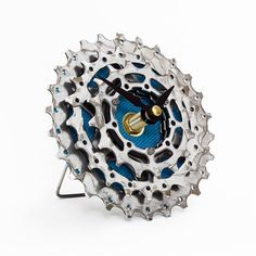bicycle cog desk clock tread and pedals tread u0026 pedals pinterest bicycles clocks and wall clocks