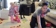 Omg I literally died laughing the entire time bc this is my life!! Perfectly Accurate Video Shows 'Why Moms Get Nothing Done'