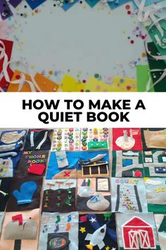 Find out how to make your first quiet book with awesome tips then browse tons of quiet book page ideas and patterns. Don't forget to grab a copy of the free planning guide so that you can make an awesome busy book in no time! #quietbook #quietbooks #quietbookideas #busybook Quiet Book Templates, Quiet Book Patterns, Templates Printable Free, Baby Quiet Book, Felt Quiet Books, Fabric Toys, Fabric Crafts, Sewing Projects, Projects To Try