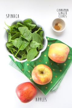 Spinach Apple Baby Food Puree
