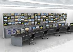 Lund Halsey  furniture - Control Room Furniture