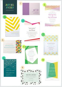 REVEL Picks: Geometric Invites