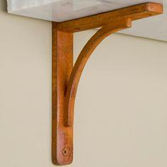 Rustic Cast Iron Shelf Bracket