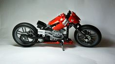 Lego Technic Chopper | My own Lego Technic creation (here yo… | Flickr - Photo Sharing!