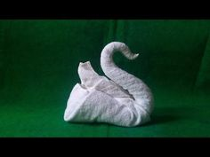 How to make Towel art | Towel Origami Swans | Towel Folding | Towel Animals by FTFM - YouTube