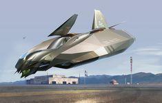 concept ships: Spaceship art by Brian Brennan