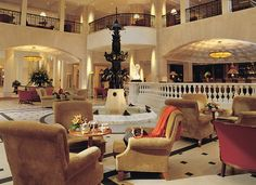 Lobby, Hotel Adlon Kempinski