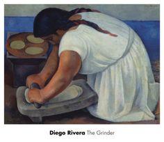The Grinder, c.1926 Art Print