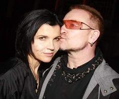 Bono and Ali [2007 ca] #U2 #u2memes #Bono #BonoVox #Ali #AliHewson #AlisonStewart #rock #music #rockmusic #couple #married #love #husband #wife #2000s #2000sstyle #2000smusic #rockstar