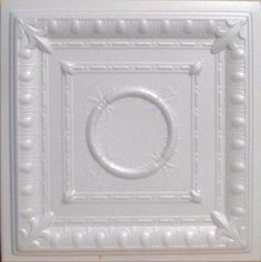 """Styrofoam Ceiling Tile - 20""""x 20"""" #R47"""