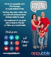 My Mom Spark Reviews: Appubble: Family First Everything Else Apple #GuestPost