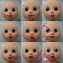 Hračky pre všetkých - Album používateľky danielik79 Crochet Bear, Amigurumi Doll, Crochet Patterns, Teddy Bear, Dolls, Knitting, Tricot, Craft, Skirt