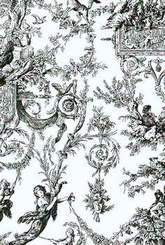Toiles de Jouy Wallpaper AT4237
