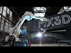 "Producing the world's first 3D-printed bridge with robots ""is just the beginning"" - Joris Laarman - YouTube"