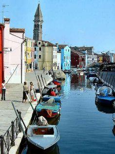 Burano Canal, Italy