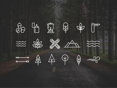 Free Wilderness/Camping Icons