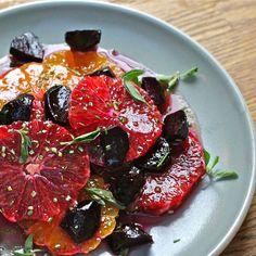 Blood Orange, Tangerine and Beet Salad with Maple-Orange Vinaigrette Recipe on Food52 recipe on Food52
