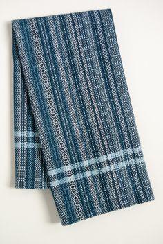 Image of winter solstice kitchen towel c