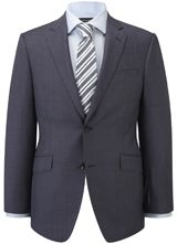 """Slim Fit CUT Blue Birdseye Jacket from """"Austin Reed"""", Purchase on discounted price using coupon codes and promotional codes."""
