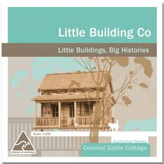 Model Colonial Gable Cottage House | State Library of Queensland Shop