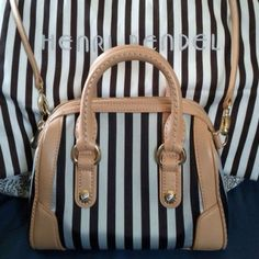 Selling this NWOT HENRI BENDEL BLACK STRIPES CROSS BODY in my @poshmark closet! My username is: floridafashion1. #shopmycloset #poshmark #fashion #shopping #style #instastyle #instafashion #igstyle #igfashion #forsale #henribendel #handbags