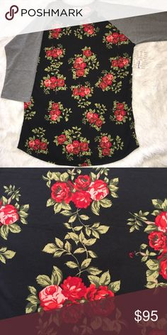 Women's Clothing Loyal Lularoe Os Butterflies On A Red Background Nwot By Scientific Process Clothing, Shoes & Accessories