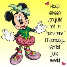 Hoop elkeen van julle het 'n 'awesome' Maandag... Geniet julle week!