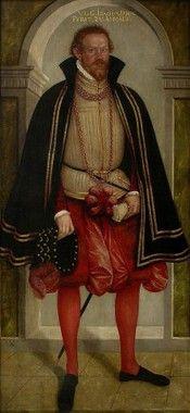 Joachim Ernst von Anhalt by Lucas Cranach the younger, 1563