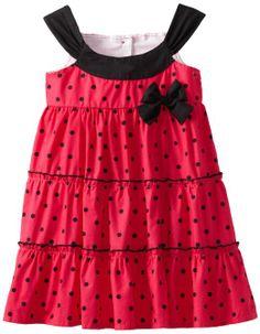 Lilybird Girls 2-6X Hot Sleeveless Dress