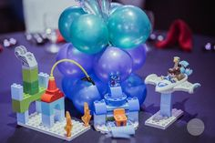 Jaime's Miles from Tomorrowland Themed Party – Table centerpiece