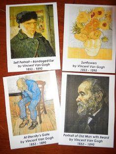 Art Cards - { freebie }