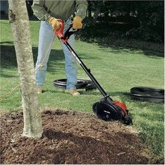 Edge Hog Electric Landscape Garden Edger Power Hand Tools Mowers Outdoor Lawn #BlackDecker