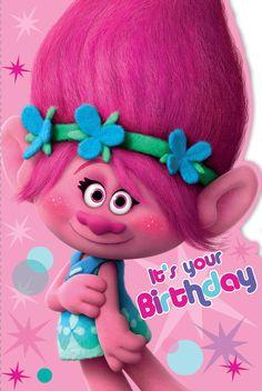 Happy Birthday Poppy Troll card! coming soon! Gemma International are the…
