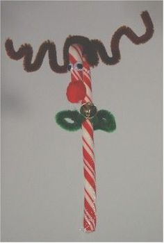 Candy Cane Reindeer - easy enough for little ones, fun for bigger kids too