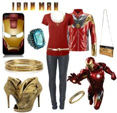 A fashion look from December 2012 featuring red top, Vivienne Westwood and heeled booties. Browse and shop related looks. Marvel Fashion, Superhero Fashion, Female Fashion, Avengers Costumes, Avengers Outfits, Super Hero Outfits, Cool Outfits, Marvel Inspired Outfits, Marvel Clothes