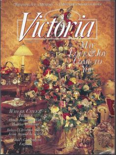 1995 VICTORIA Magazine Vol 09 #12 DEC
