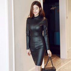2016-Fall-And-Winter-Fashion-Woman-PU-font-b-Leather-b-font-font-b-Bodycon-b.jpg (800×800)