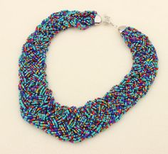 Star Jewelry Fashion Bohemia 5 Colors Temperament Candy Beads Statement Necklace…