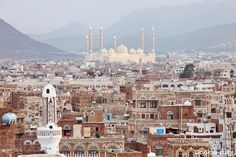 Sana'a is one of the oldest inhabited cities in the world and has many monuments dating back centuries. Samanth writes about Sanaa and coa valley. Countries To Visit, Places To Visit, Marriage Night, Yemen Sanaa, Tower House, Earth Homes, Exhibition Poster, Islamic Architecture, Sea Level