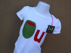 Olive you.  Available in any size girls or boys by leoandlyla, $15.00