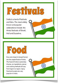 India Fact Cards - Treetop Displays - A set of 18 A5 fact cards that give key, fun and interesting facts about India. Each fact card has a key word heading, making this set an excellent topic-based word wall/ word bank as well! Visit our website for more information and for other printable classroom resources by clicking on the provided links. Designed by teachers for Early Years (EYFS), Key Stage 1 (KS1) and Key Stage 2 (KS2).