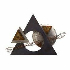 abstract metal art wall decor - Pesquisa Google
