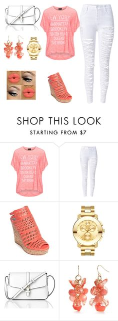 """""""Barça c'est ma vie"""" by morroquiina ❤ liked on Polyvore featuring Replace, Charles by Charles David, Movado, L.K.Bennett and Kim Rogers"""
