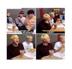Don't worry Jin, to me you're fresher than salad
