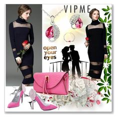 """www.vipme.com"" by ane-twist ❤ liked on Polyvore featuring women's clothing, women, female, woman, misses, juniors and vipme"