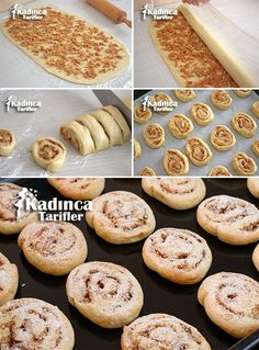 Easy Apple Roll Cookie Recipe, How to Make, Dessert recipes Apple Cookies, Roll Cookies, Sweet Cookies, Apple Recipes, Cookie Recipes, Dessert Recipes, Mousse Au Chocolat Torte, Food Articles, Italian Cookies