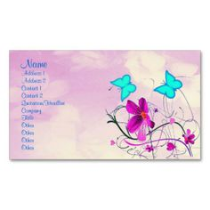 Spring Business Cards BY ELENAIND