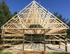 Pinterest the world s catalog of ideas for Pole barn roof pitch